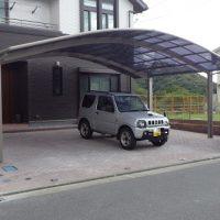 ハイルーフ車も駐車できます