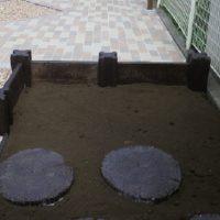 家庭菜園スペースも設置しました。