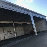 ガレージと倉庫を兼用しています